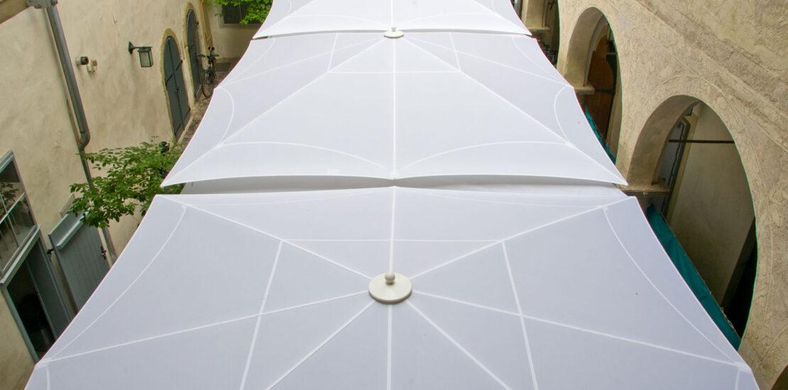 Polyester-Membranen mit PVC-Beschichtung