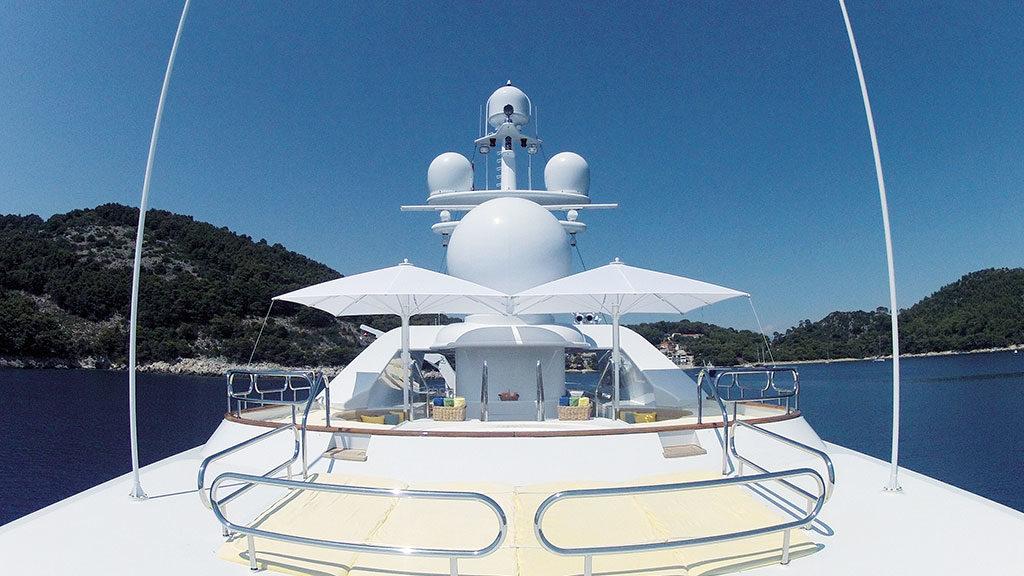 Bahama Jumbrella für Yachten, Boote und maritime Einrichtungen