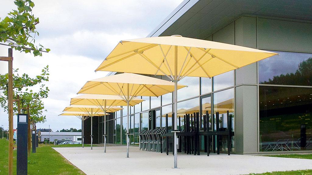 Bahama Easy - Kleiner premium Sonnenschirm für hohen Anspruch eines professionellen Großschirms
