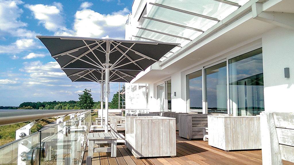 Jumbrella von Bahama - Die Sonnenschutz-Lösunge für alles