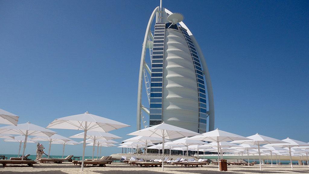 Jumbrella Sonnenschirm - Dubai Hotel - Grossschirm von Bahama