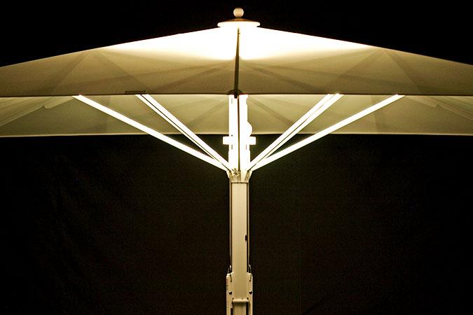 Bahama Jumbrella LED Beleuchtung Zusatzausstattung