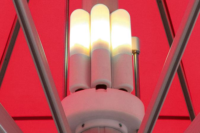 Beleuchtung Jumbrella XL