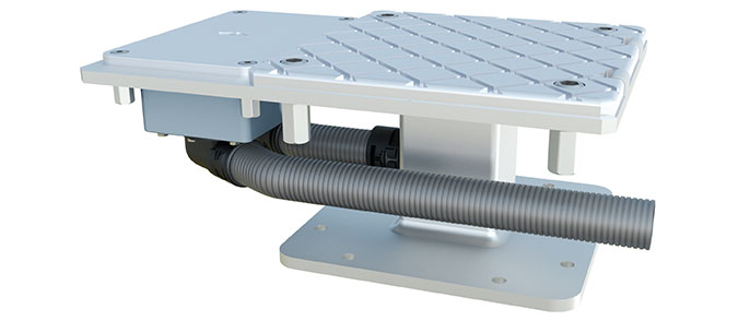 Jumbrella XL Stahlplattenstaender Bodenbefestigung