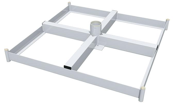 Bahama Jumbrella Stahlkassetten Rahmen