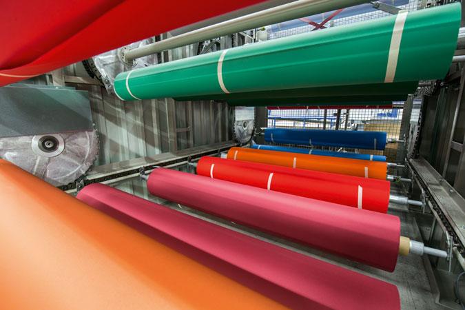 Stoffrollen - Textile Membrane und Bespannung - Bahama.de