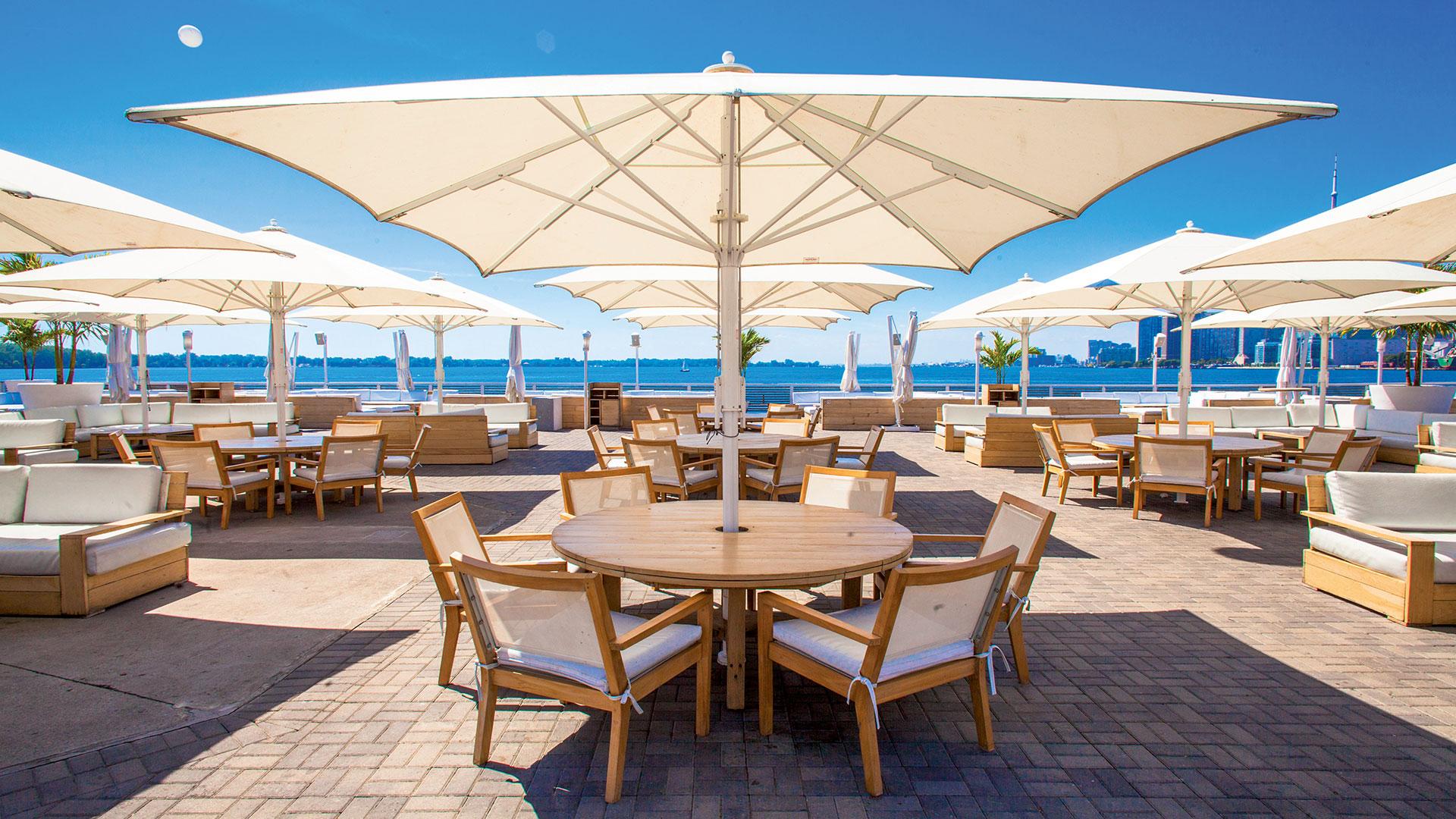 Jumbrella Sonnenschirm - Der ausgezeichnete Grossschirm - Premium Sonnenschutz Lösung von Bahama