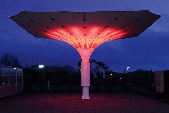 LED Beleuchtung Bahama Largo Grossschirm