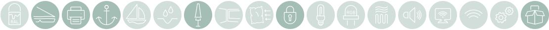 Easy Zusatzausstattung Icons