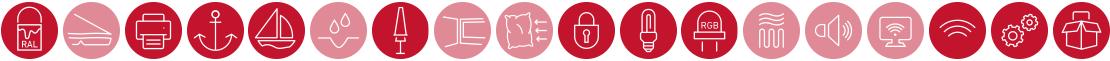 Largo Zusatzausstattung Icons