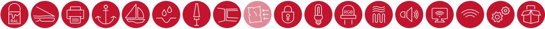 Magnum Zusatzausstattung Icons
