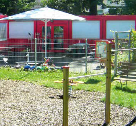 Bahama Großschirme für Kindergärten, Spielplätze & Schulen