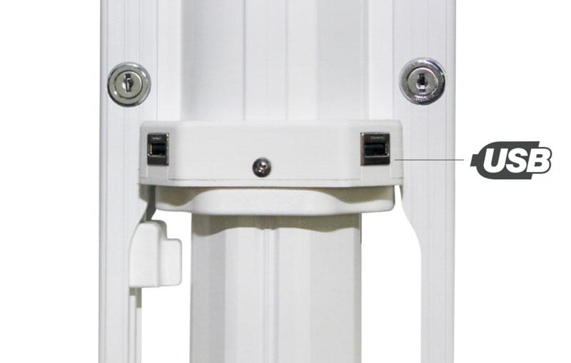USB Anschluss Jumbrella - Bahama für Hotellerie