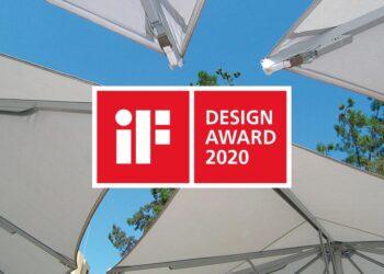 Jumbrella XL ist Preisträger des iF DESIGN AWARD 2020